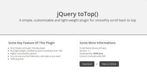 jquery-back-to-top-smooth-scroll-lightweight