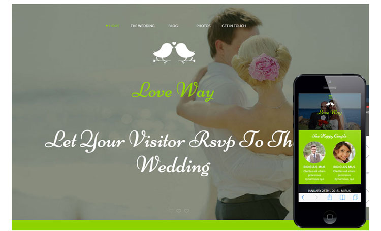 love-way-flat-bootstrap-responsive-template