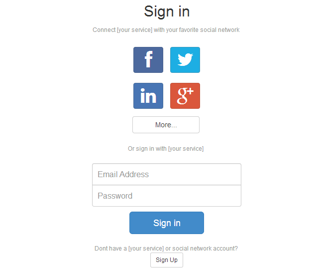 24 bootstrap login form templates - page 2 of 3