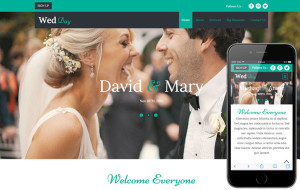 wedday-responsive-template
