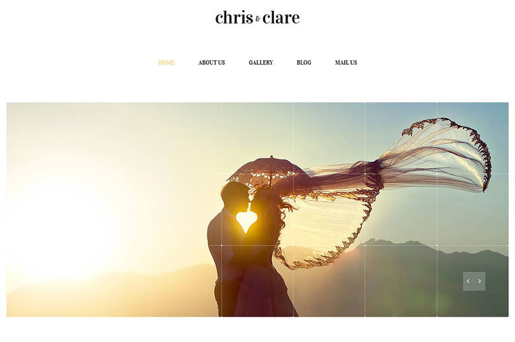 wedding-album-website-template