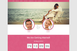 wedding-bootstrap-responsive-template