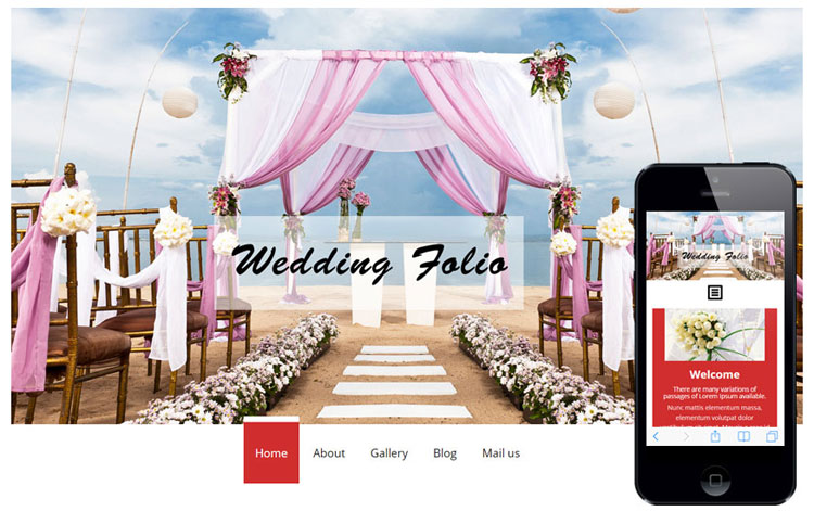 wedding-folio-bootstrap-responsive