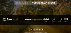 aweland-responsive-coming-soon-template