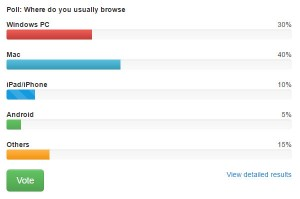 bootstrap-poll