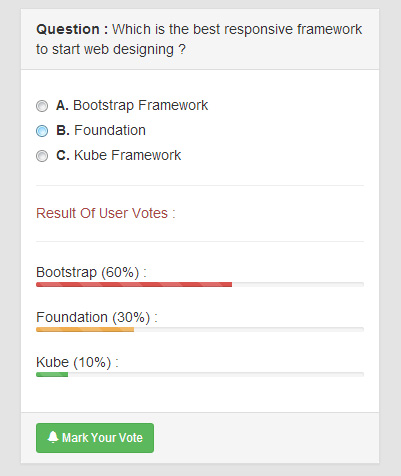 bootstrap-poll-example