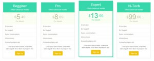 bootstrap-responsive-pricing-tables