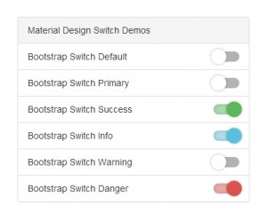 bootstrap-switch-design