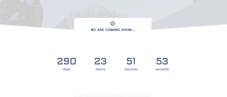 expedition-responsive-coming-soon-page