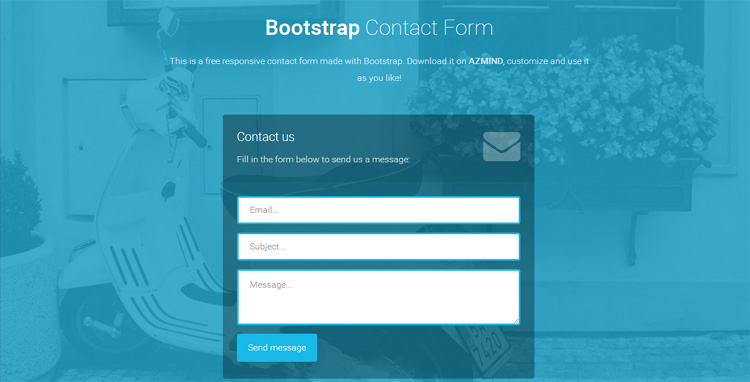 responsive-bootstrap-contact-form