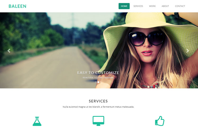 baleen-single-page-bootstrap-template