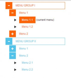 bootstrap-sidebar-menu-group-tree