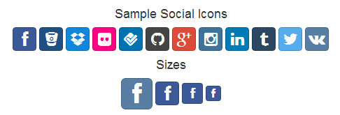 bootstrap-social-icons