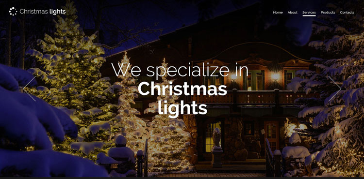 christmas-responsive-bootstrap-template