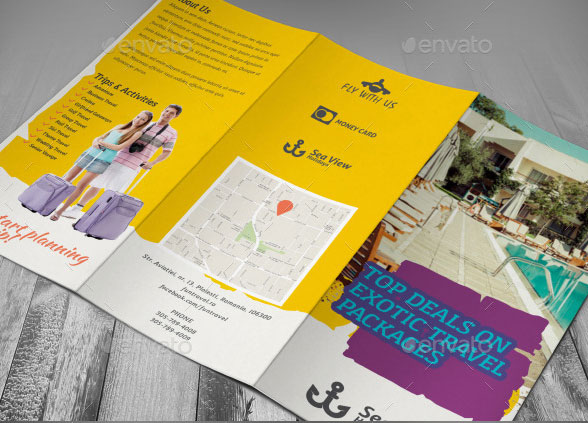 exotic-travel-tri-fold-brochure