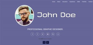 flip-resume-book-style-resume-theme