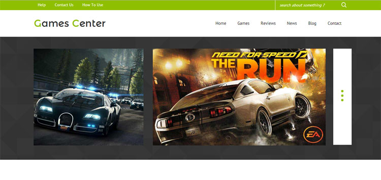 game-center-bootstrap-gaming-template