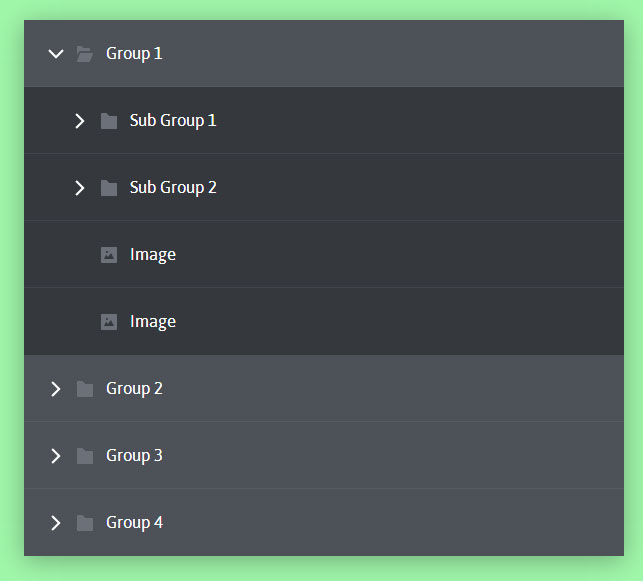 multi-level-accordion-menu