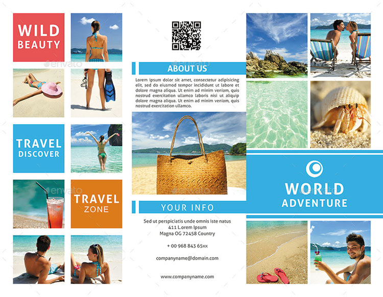 18 Best Travel & Tourism Brochure Design Templates - Page 2 Of 2