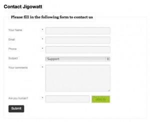 wp-ajax-contact-form