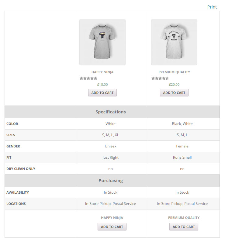 compare-products-with-woocommerce