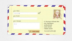creative-envelope-contact-form-ui