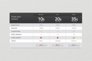 custom-web-ui-pricing-table-psd