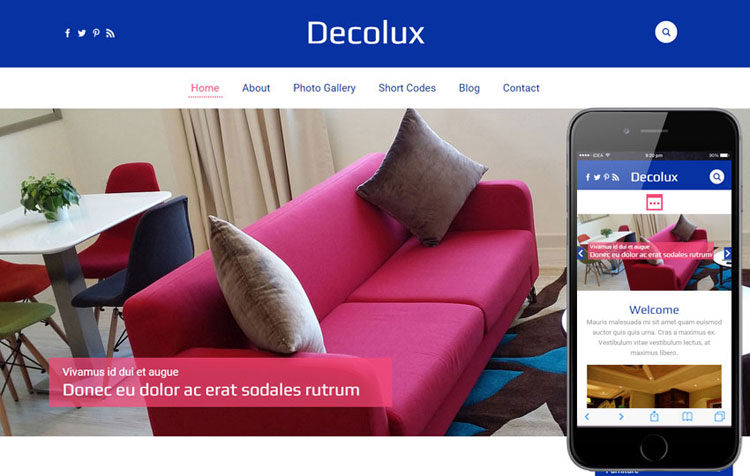 decolux-furniture-flat-bootstrap-template