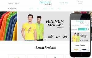 fashion-mania-ecommerce-responsive-template