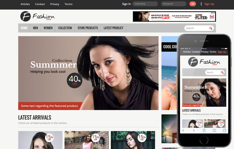 45 Free Bootstrap Ecommerce Templates Page 4 Of 5