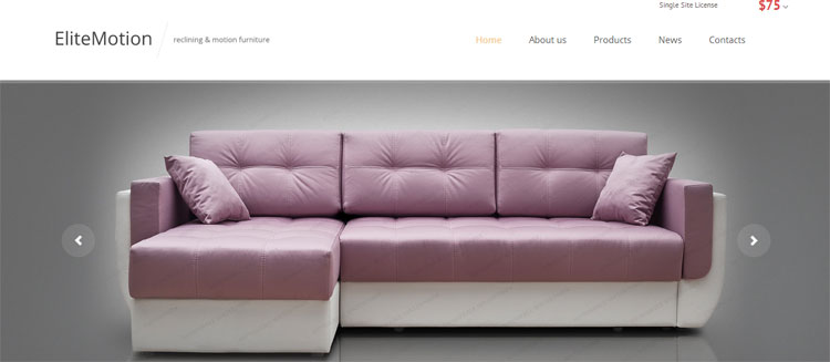 furniture-responsive-website-template