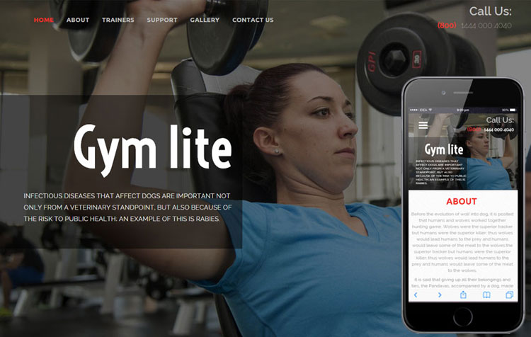 gym-lite-flat-bootstrap-responsive-template