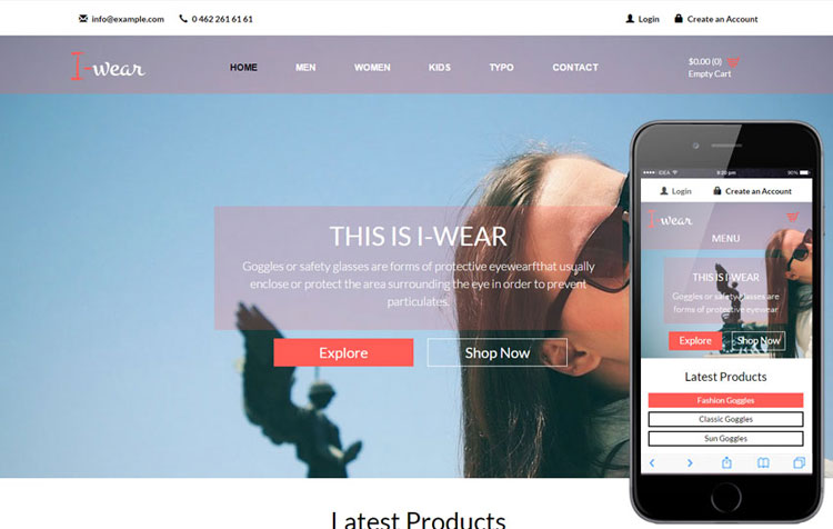 responsive stylesheet template - 45 free bootstrap ecommerce templates page 2 of 5