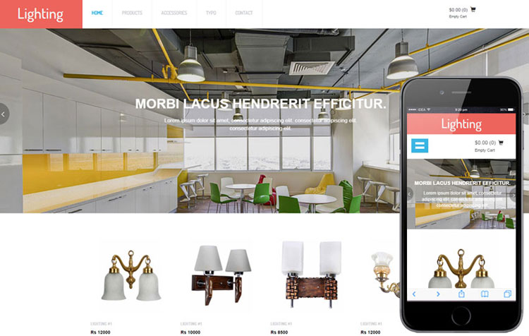 lighting-ecommerce-bootstrap-template