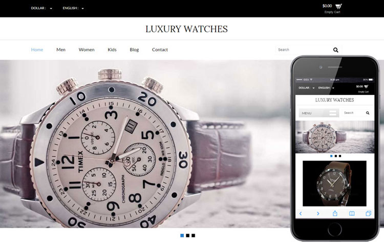 luxury-watches-ecommerce-theme