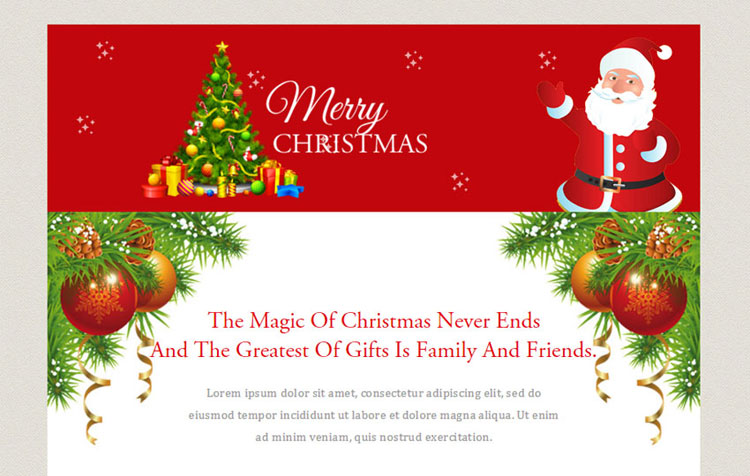 merry-christmas-newsletter-responsive-web-template