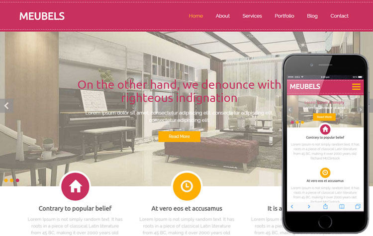 meubels-furniture-bootstrap-website-template