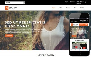 new-store-ecommerce-website-template