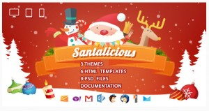 santalicious-responsive-email-template
