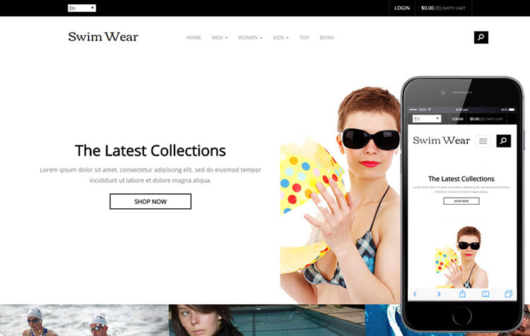 swim-wear-ecommerce-responsive-template