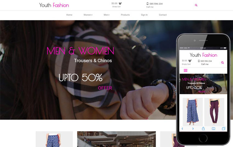 youth-fashion-bootstrap-template