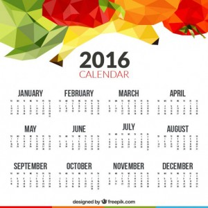 2016-calendar-with-polygonal-fruits