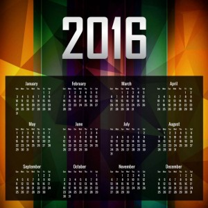 colorful-2016-calender-in-polygonal-style
