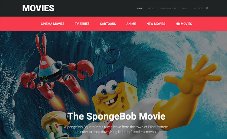 movie-responsive-bootstrap-website-template