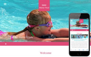 water-pool-bootstrap-sport-template