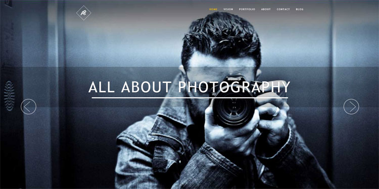 awesome-photgraphy-template