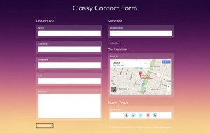 classy-contact-form-free-template