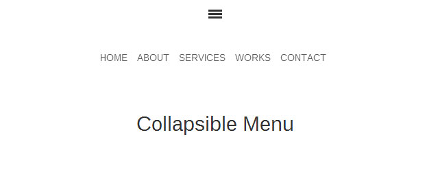 collapsible-bootstrap-menu