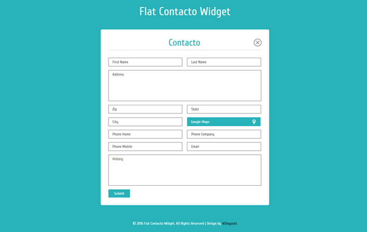 flat-contacto-responsive-template