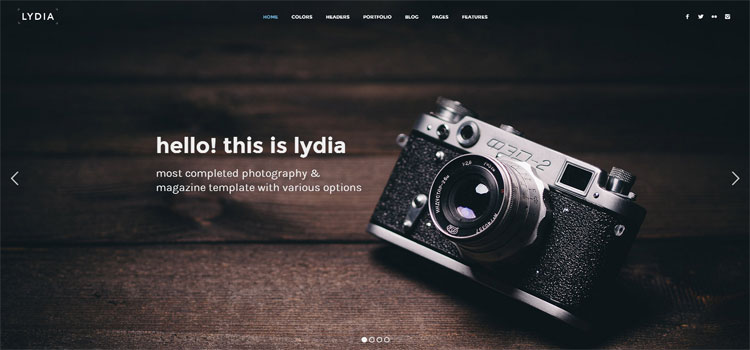 lydia-bootstrap-photography-template